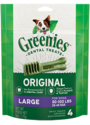 6-Ounce Pack Greenies Original Large Dog Dental Treats