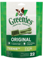 6-Ounce Greenies Original Teenie Dog Dental Treats