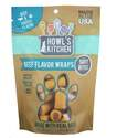 Howl's Kitchen Beef Flavored Dog Wraps, 12-Ounce