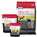 8-Pound Ultra 24 Grade A Multi-Species Milk Replacer