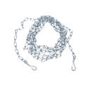 2.5mm X 10-Foot Titan Twisted Link Chain Dog Tie Out