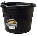 18-Quart Rubber Flat Back Bucket