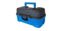 Bright Blue 3-Tray Tackle Box
