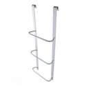 4-Foot 3-Ring Egress Window Well Ladder