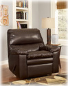 Signature Design By Ashley 2000025 Robinsway DuraBlend - Java Rocker Recliner
