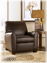 Signature Design By Ashley 2770203 Maguire - Brown Low Leg Power Recliner