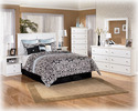Signature Design By Ashley B139-36 Bostwick Shoals - White Bedroom Mirror