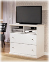 Signature Design By Ashley B139-38 Bostwick Shoals - White Media Chest