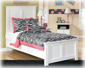 Signature Design By Ashley B139-52 Bostwick Shoals - White Twin Panel Footboard