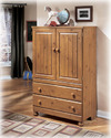 Signature Design By Ashley B233-48 Stages - Light Brown Door Chest