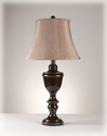 Signature Design By Ashley L203784 Bronze Finish Metal Table Lamp