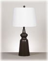 Signature Design By Ashley L246084 Olicia - Dark Brown Metal Table Lamp (2/Cn)