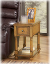 Signature Design By Ashley T007-430 Chairside End Program - Multi Chair Side End Table