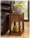 Signature Design By Ashley T007-527 Chairside End Program - Multi Chair Side End Table