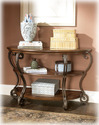 Signature Design By Ashley T517-4 Nestor - Medium Brown Sofa Table