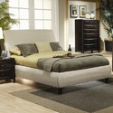 Coaster 300369KE Phoenix King Contemporary Upholstered Bed