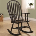 Coaster 600186 Transitional Rocking Chair