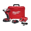 Milwaukee 2657-22CT M18 2-Speed 1/4 In Hex Impact Driver Kit