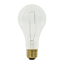 Satco Nuvo Lighting S3946 150 Watt A21 Clear Incandescent Bulb