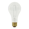 Satco Nuvo Lighting S3958 200 Watt A23 Clear Incandescent Bulb