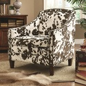 Coaster 902134 Cow Pattern Accent Chair