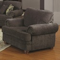 Coaster 504403 Colton Traditional Styled Living Room Chair