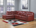 Signature Design By Ashley 2010016/67 Sectional Laf Chaise Salsa