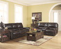 Signature Design By Ashley 2100088 Dexpen - Saddle D Reclining Sofa