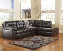 Signature Design By Ashley 2010117/66 Sectional Raf Chaise Choc
