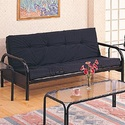 Coaster 2334 Casual Metal Futon Frame And Mattress Set