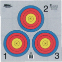 Maple Leaf Press TA3X40GX500 Official Vegas 3-Spot Target
