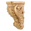 HARDWARE RESOURCES CORBB-1RW Acanthus Traditional Corbel 4-1/2x5x10