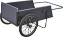 Vulcan 9760612 Wooden Dump Cart 7 Cu Ft Cap