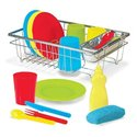 Melissa & Doug 4282 Let's Play House! Wash And Dry Dish Set