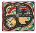 Melissa & Doug 9401 Round The Speedway Race Track Rug And Car Set