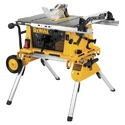 DeWalt DW744XRS 10 In Compact Job Site Table Saw W/Rolling Stand