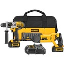 DeWalt DCK292L2 20v Max Lithium Ion Hammerdrill /Recip Saw Combo Kit (3.0 Ah)