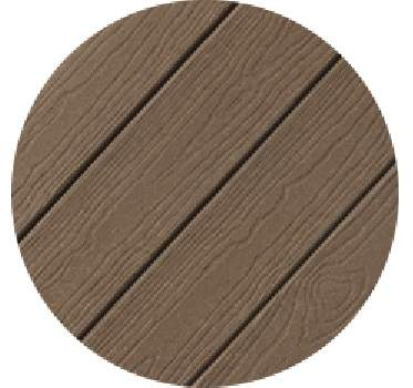 Weathered wood evergrain decking 1 x 6 inch x 16 foot at for Evergrain decking cost