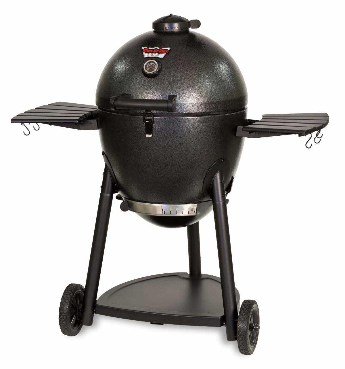 char griller 16620 kamado kooker charcoal grill and smoker at sutherlands. Black Bedroom Furniture Sets. Home Design Ideas