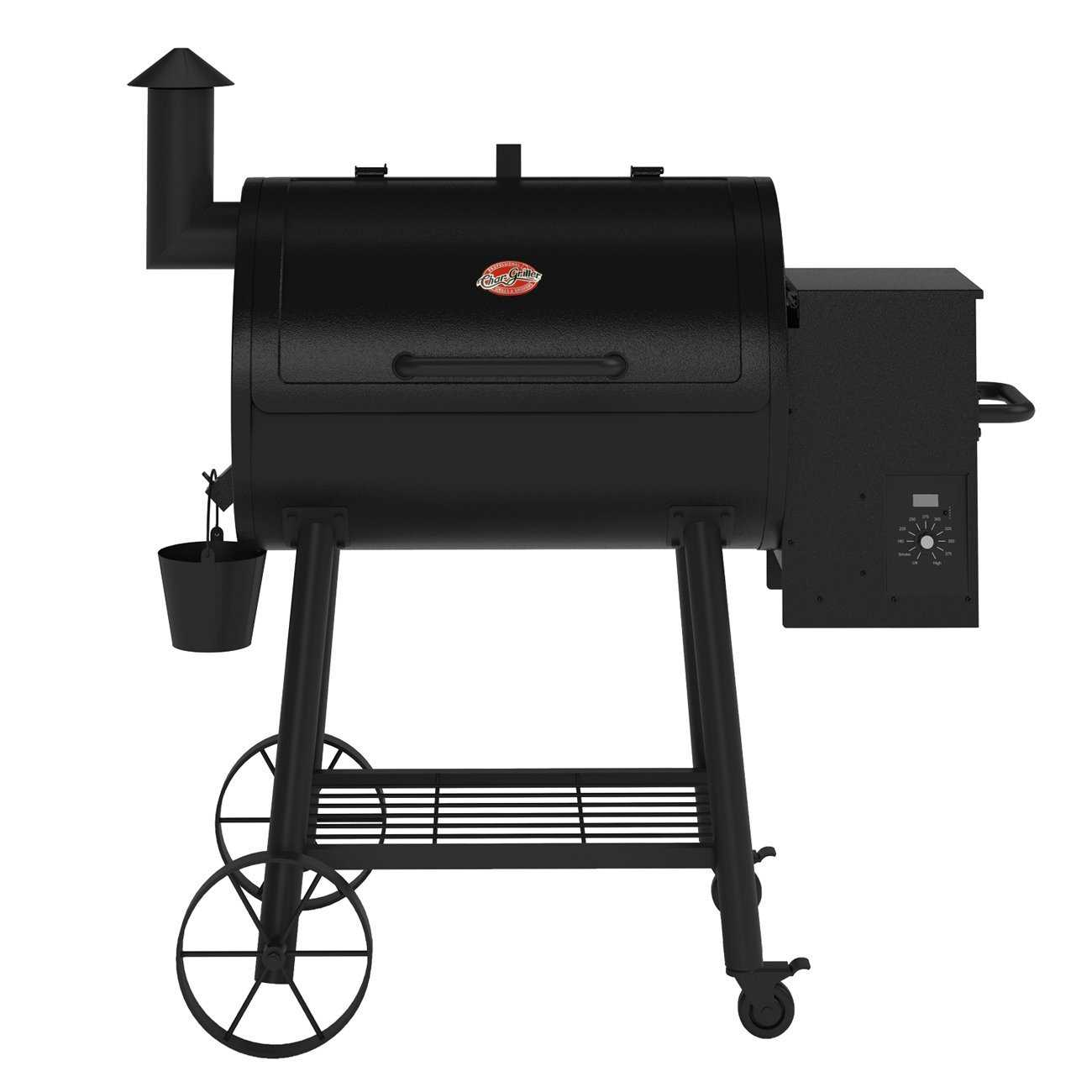 Char-Griller 9040 Wood Fire Pro Pellet Grill at Sutherlands