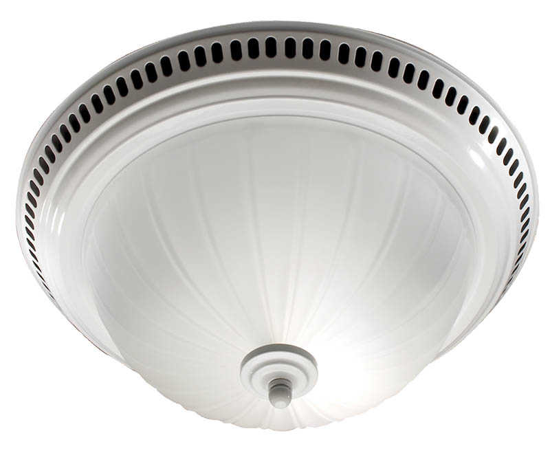 Broan-Nutone 741WH White Bath Fan Light Combo At Sutherlands