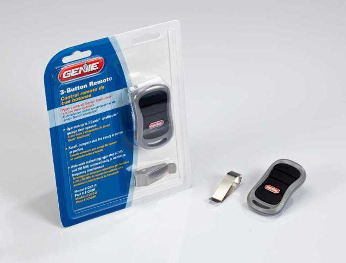 Where is learn button located on genie Garage door opener ...