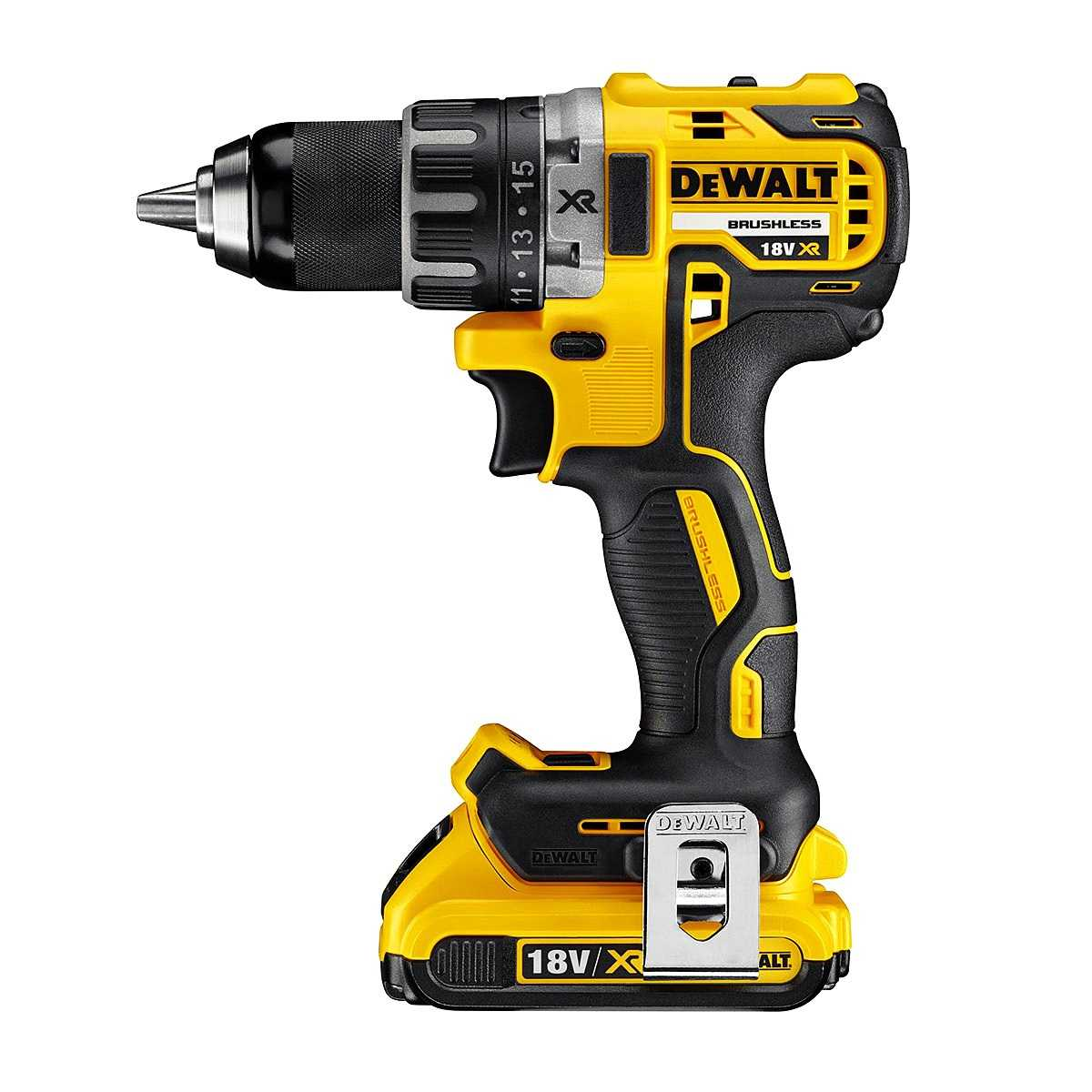 Dewalt dcd791d2 20v max xr li ion brushless compact drill for Dewalt 20v brushless motor