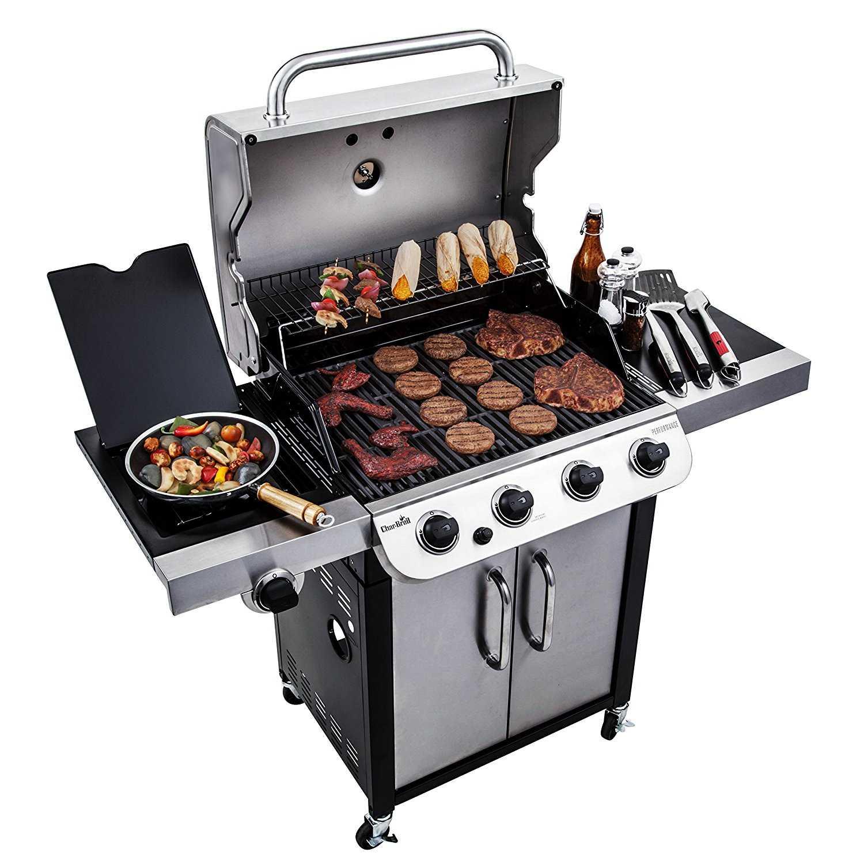 char broil 463377017 4 burner performance gas grill 36 000. Black Bedroom Furniture Sets. Home Design Ideas