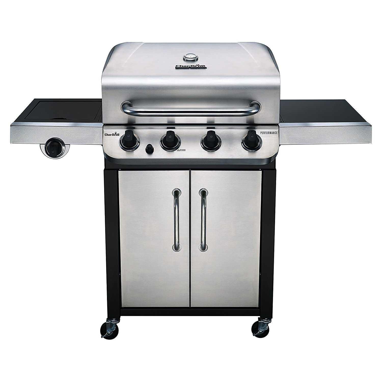 char broil 463377017 4 burner performance gas grill 36 000 btu at sutherlands. Black Bedroom Furniture Sets. Home Design Ideas