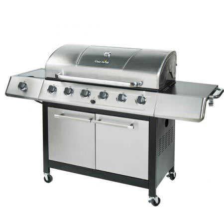 Char Broil 463230511 65 000 Btu Gas Grill With Side Burner