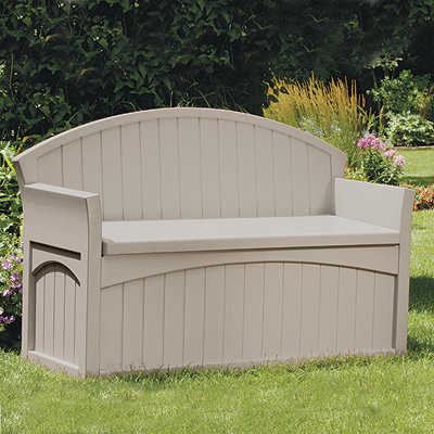 Suncast Pb6700 Patio Bench With Storage