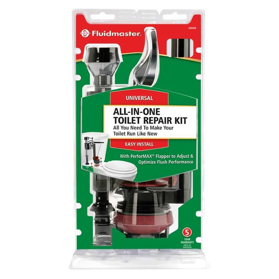 fluidmaster 400akfsp5 complete toilet repair kit at. Black Bedroom Furniture Sets. Home Design Ideas
