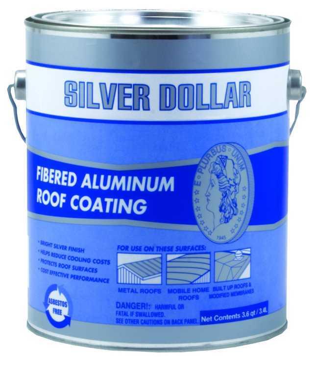 Gardner Gibson 6211 Ga Silver Dollar Fibered Aluminum Roof