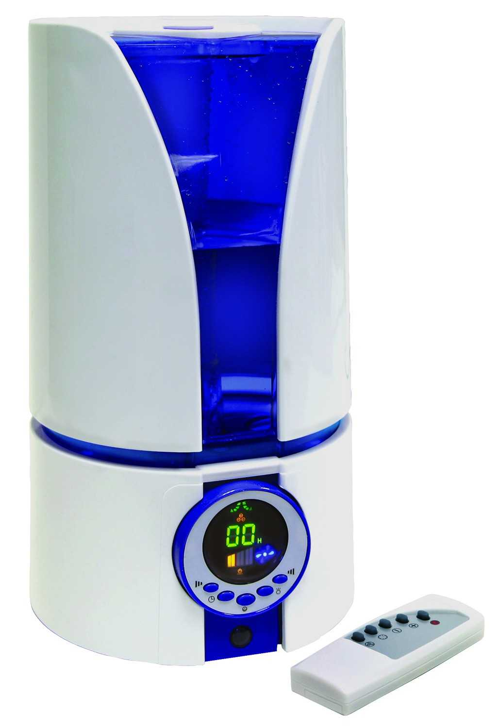 Comfort Zone Czhd81 Ultrasonic Cool Mist Humidifier With